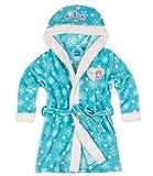 Disney La Reine des neiges Fille Robe de chambre à capuche polaire, toucher doux - turquoise - 4...