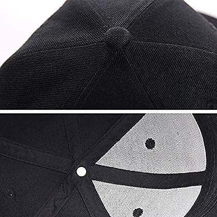 Yoursport Baseball Caps Embroidered Logo Adjustable Unisex Travel Hat for Tesla Black-Red Logo