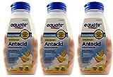 Sugar Free Antacid Orange Cream Flavor 270 Chewable Tablets Equate (3 Bottles of 90 Each)
