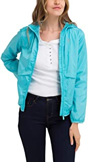 U.S. Polo Assn. Womens Lightweight Windbreaker Jacket with Hood