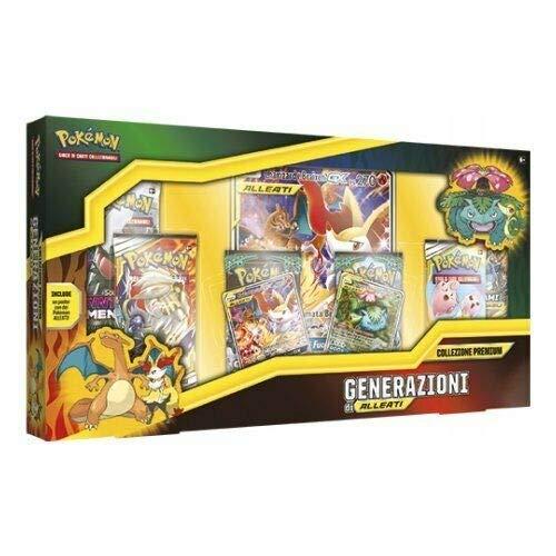 The Pokemon Company- Collezione Premium Generazioni di Alleati Carte, Multicolore, 8.2065E+11