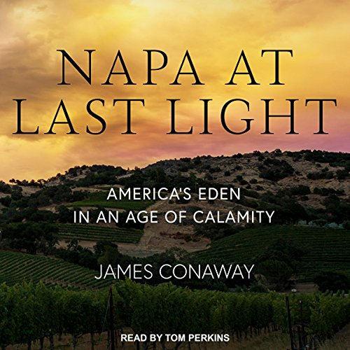 Napa at Last Light audiobook cover art
