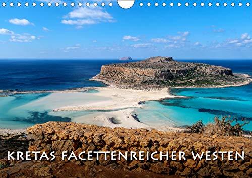 Kretas facettenreicher Westen (Wandkalender 2021 DIN A4 quer)