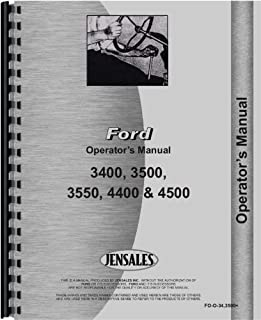 Ford 3500 Industrial Tractor Operators Manual (1965-1975)