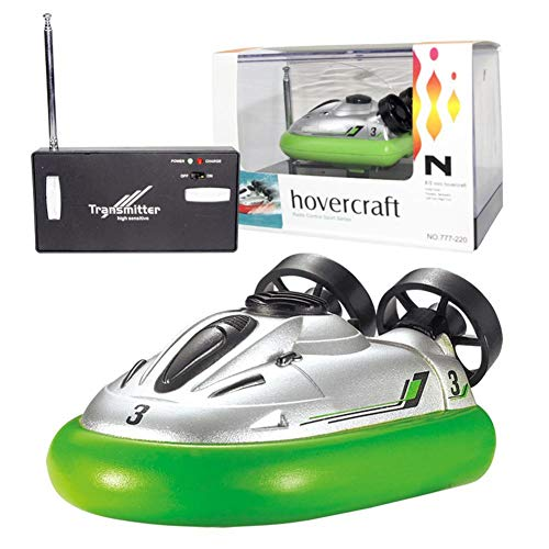 Mini RC Boat, Innovative High Speed 4 Channel Racing Remote Control Boat,Durable RC Hovercraft Submarine Water Toys for Kids Adults