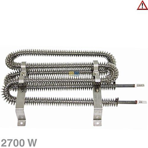 Gorenje Heizung Heizelement Wäschetrockner Trockner passend für Bosch Siemens Neff 498557 00498557 Gorenje 139795 2700W