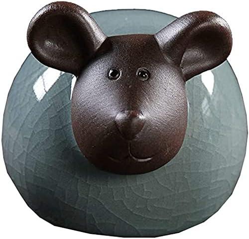 DJRH Creative Zodiac Animal Sculpture Desktop New products world's highest quality Genuine popular Ceramic St Artwork