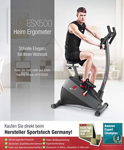 Ergometer Fahrrad ESX500 Sieger unter 500 Euro Bild 6*