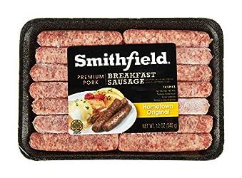 Smithfield, Hometown Original Premium Fresh Pork Breakfast Sausage Links, 12 oz (frozen)