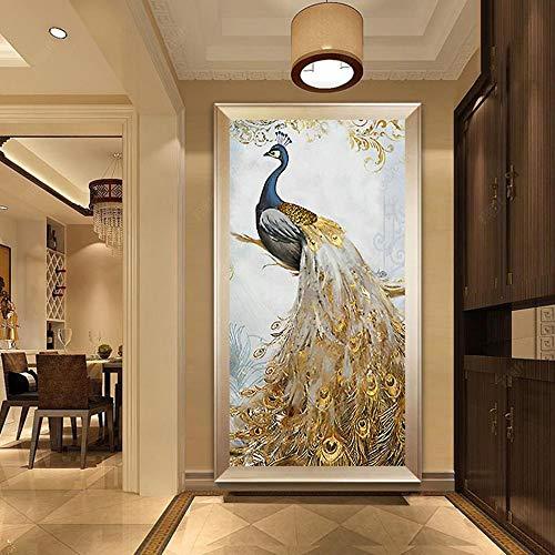 EXQULEG 5D Diamond Painting Set, Crystal Strass Stickerei Bilder Kunst Handwerk für Home Wall Decor 90 * 50cm (K)