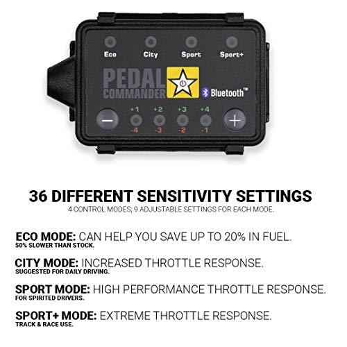 Pedal Commander Throttle Response Controller PC31 Bluetooth for Dodge Challenger 2008 and newer (Fits All Trim Levels; SE, SXT, GT, Rallye, R/T, Shaker, T/A, SRT 392, SRT8, Hellcat, Demon)