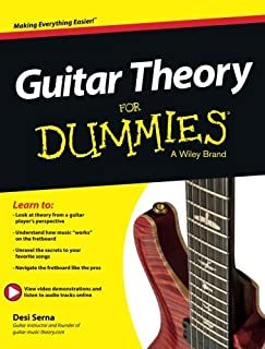 Guitar Theory For Dummies: Book + Online Video & Audio...