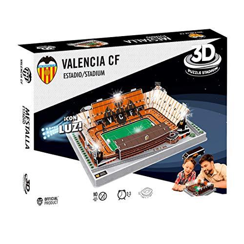 Valencia C.F.- Puzzle 3D con Luz Estadio Mestalla (Valencia CF) (Eleven Force 13682)