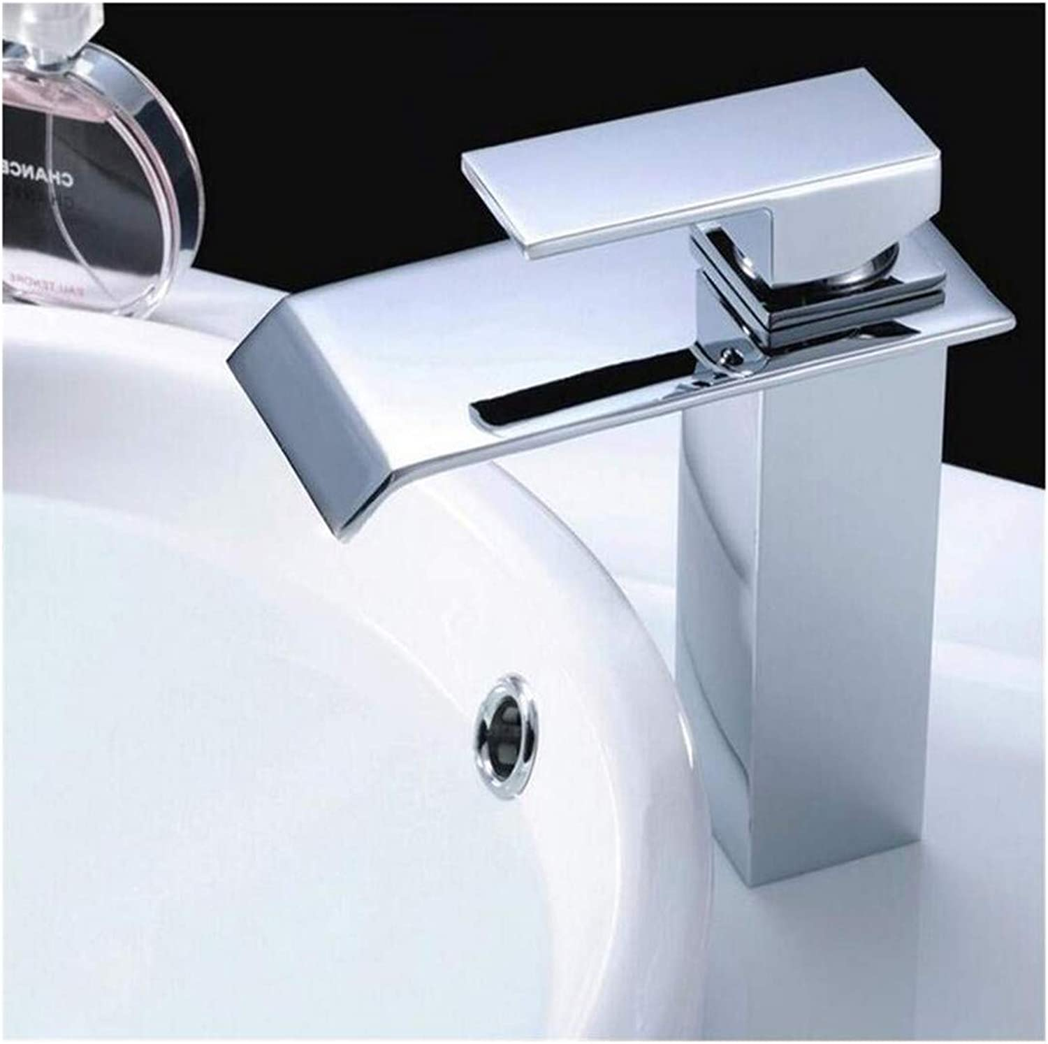 Kitchen Bath Basin Sink Bathroom Taps Washbasin Mixer Chrome Cast Bath Tap Cold H Ot Deck Mounted Ctzl1447