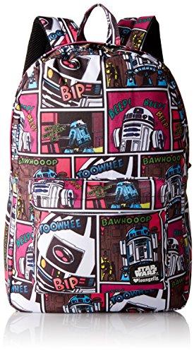 Loungefly Damen Rucksack Sw R2d2 Comic Print, (Multi), Einheitsgröße