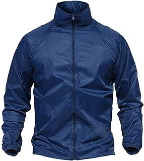 Men's Camo Tactical Lightweight Jacket Breathable Waterproof Windbreaker Hiking Jacket