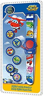 Disney - Reloj Digital con 6 Discos, diseño de Super Wings