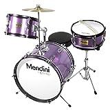 Mendini By Cecilio Kids Drum Set - Kit w/ Drums, Drumsticks, Seat -...