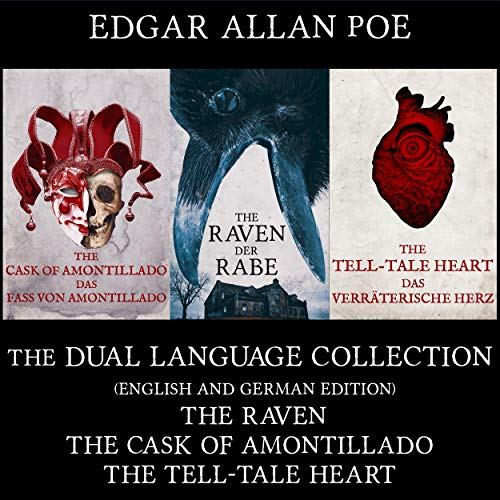 『The Raven, The Cask of Amontillado, The Tell-Tale Heart』のカバーアート