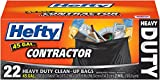Hefty Heavy Duty Contractor Bags - 45 Gallon, 22 Count
