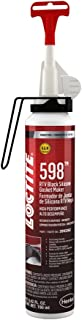Loctite 2093362 1 Pack 598 RTV High Performance Silicone, Black, 190 ml