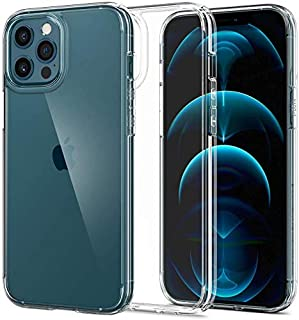 ESR Case for iPhone 12 (Max pro - Pro - 12 -Mini) Transparent - High Protection - Hard Tempered Glass Back - Flexible Fram...