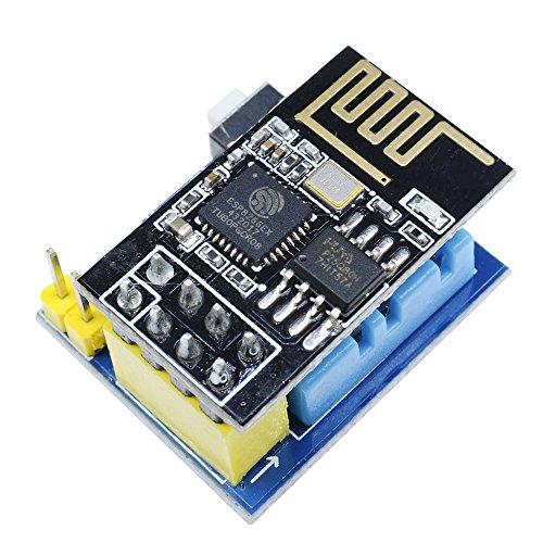 ESP8266 ESP-01 ESP-01S DHT11 Temperatur Luftfeuchtigkeit Sensor Modul Drahtlose Wifi NodeMCU Smart Home IOT Für Arduino DIY Kit (mit ESP-01S)