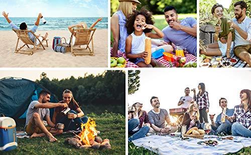 51oaEf DEiL - meteor Mochila Térmica Porta Alimentos para Picnic Playa Camping Senderismo Excursión Viajes - Portatil Bolsa Aislamiento de Enfriamiento 10 L o 20 L
