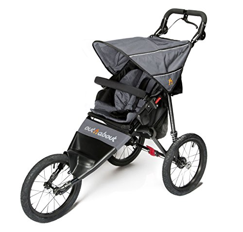 Out n About V4 Nipper Single Sport - Grey Out 'n' About  1