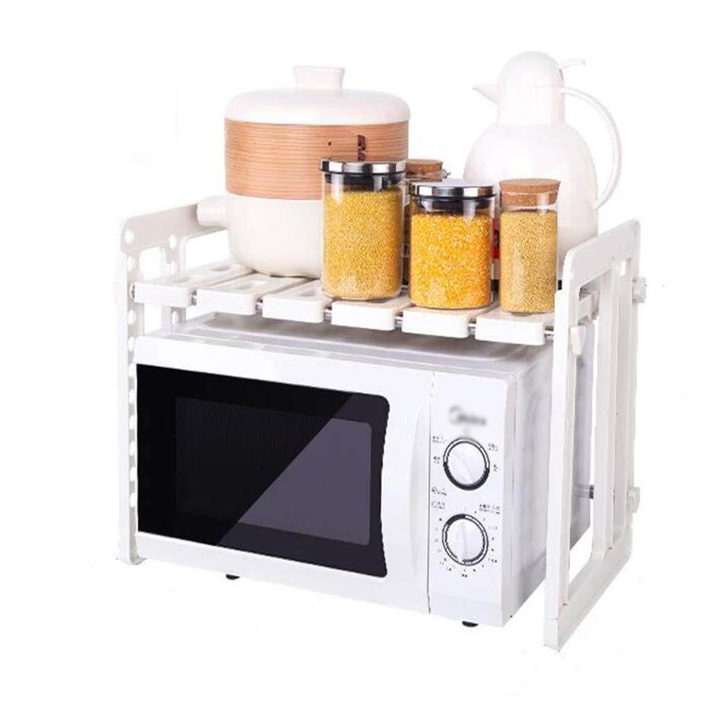 Juego de cocina para microondas Estante para horno de 2 capas Armario doble Mueble de almacenamiento multifuncional: Amazon.es: Hogar