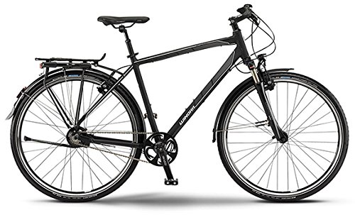 Winora Labrador Herren-Trekkingrad 14-Gang Rohloff Nabenschaltung schwarz/grau/weiß matt RH 48 Modell 2015