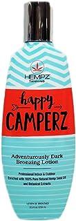 Hempz Happy Camperz Dark Bronzer 100% Pure Natural Hemp Oil 8.5oz