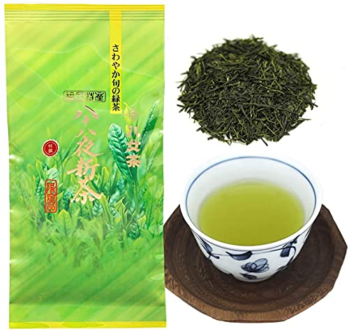 八女茶 新茶 2021年度産 八女茶 特選 八十八夜 100g ( 袋 タイプ ) 岩﨑園製茶