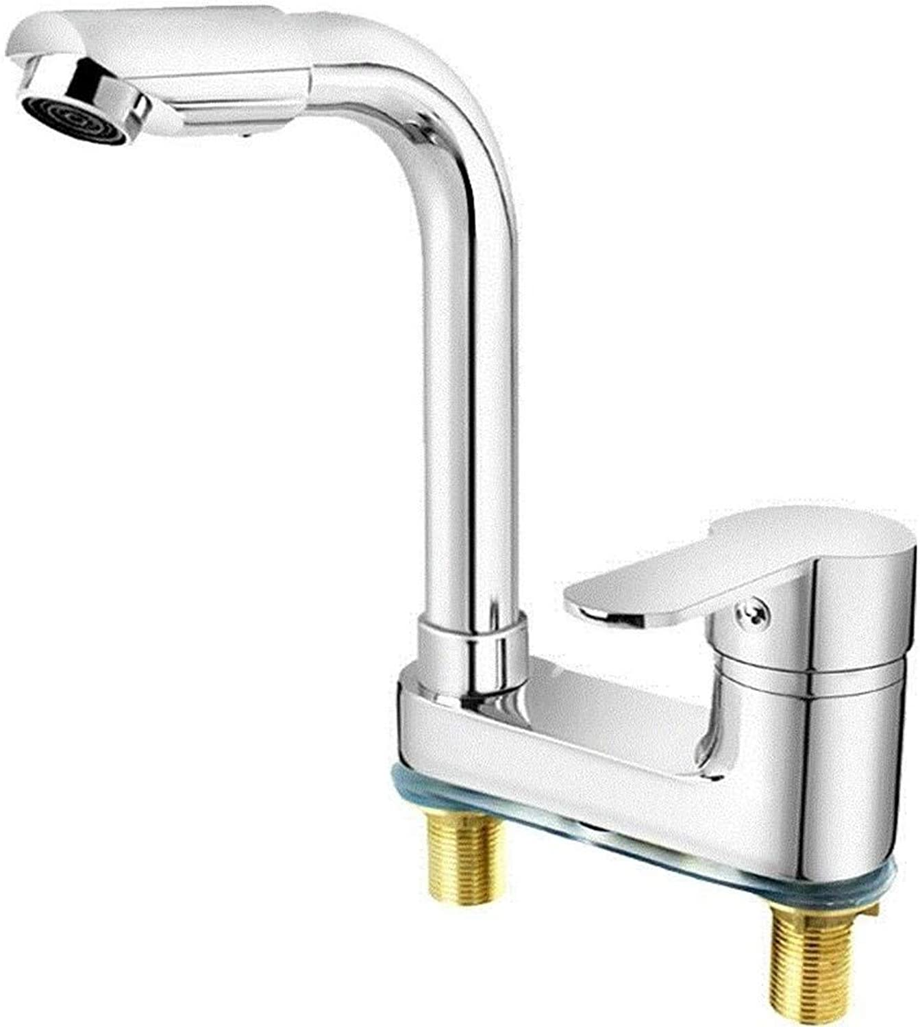 Water Tap Kitchen Two-Way Integrated Temperature Household Water Outlet Faucet Hot and Cold Washroom