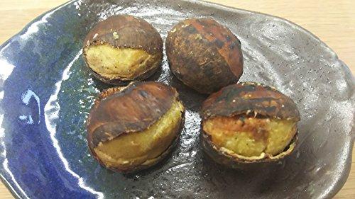 中国産 特大 笑い 焼き栗 1kg ( 約55個 ) ニコニコ 栗 くり