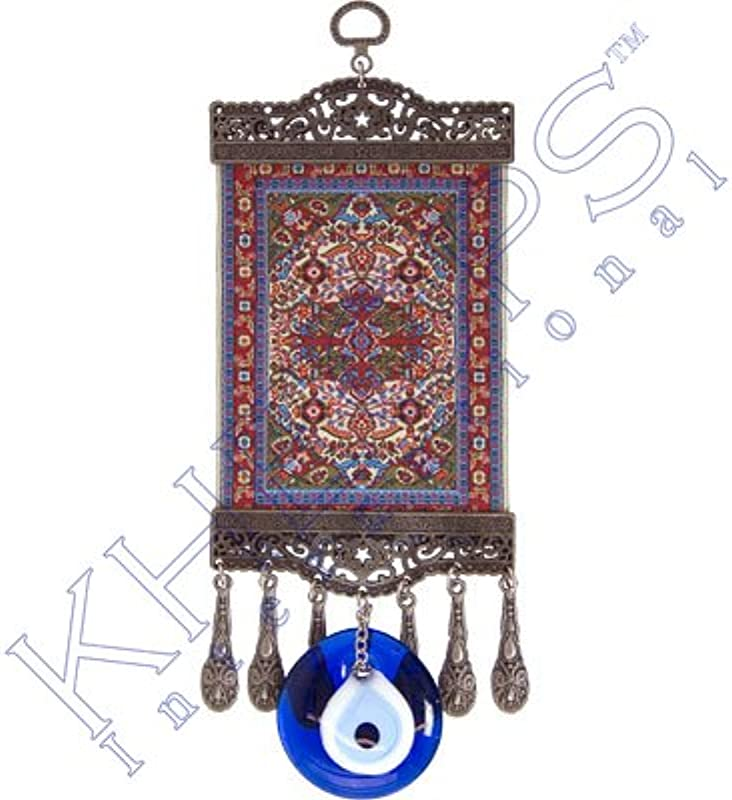 New Age Evil Eye Door Hanging Ottoman Each