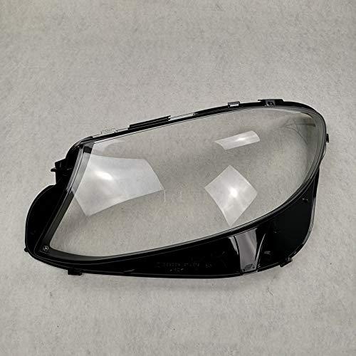 KKLL Auto Scheinwerfer Shell Cover Scheinwerferglas Lampcover Cover, Auto-Scheinwerfer Lampenschirm Shell Fit for Mercedes-Benz E-Klasse W213 E200 E260 E300 E400 2016-2020 Auto Objektiv Shell