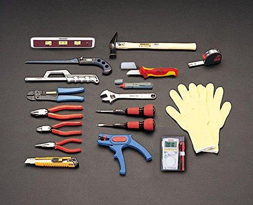 [18個組] 電気工事用工具セット EA33