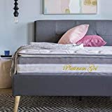Full Mattress 13 Inch Hybrid Gel Memory Foam and Pocket Innerspring Bed Mattress Dual-Layered with Plush Pillow Top in a Box, CertiPUR-US Certified Comfort Foam Mattresses No Bed Spring Firm Support