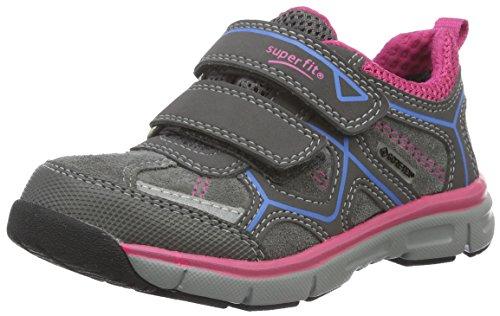 Superfit LUMIS 700411, Mädchen Sneakers, Grau, 32 EU