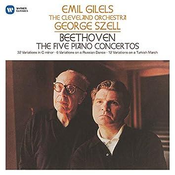 Beethoven: The Five Piano Concertos, Variations, Op. 76, WoO 71 & 80
