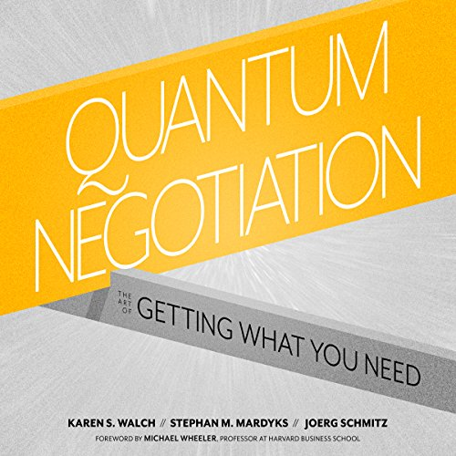 Quantum Negotiation audiobook cover art