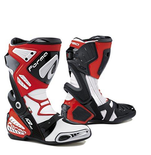 Forma FORV220-1045 Ice Pro Stivali Moto, Rosso, 45