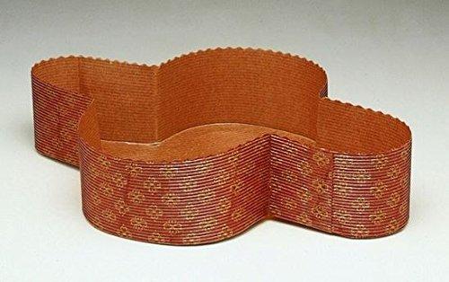 Papier-Backformen für Ostertauben oder sonstiges Gebäck mit einem Gewicht von 750g, 3Stück