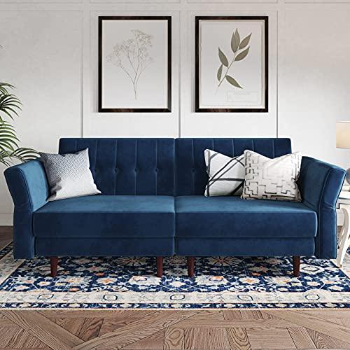 TITLE_Belffin Convertible Futon Sofa