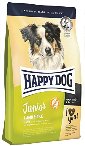 Happy Dog Junior Lamb and Rice, 1er Pack (1 x 10 kg)