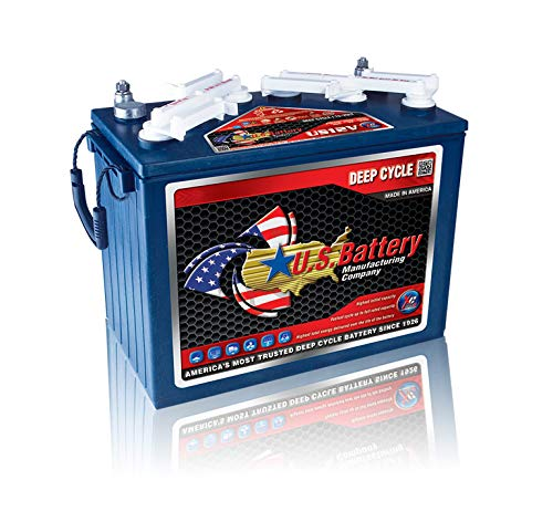 US 12V XC2-12 Volt Golf Cart Battery (Minimum Order 1 Set of 2 Batteries)