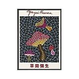 Yayoi Kusama Kunstausstellung Poster und Drucke Wandkunst