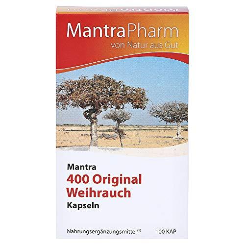 Mantra 400 Original Weihrauch Kapseln, 100 St
