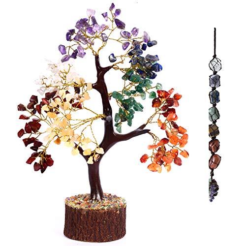 PARUHAS Espiritual Decoración Siete Terapia árbol chakra decoración de la habitación decoración de la meditación